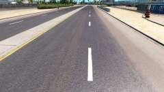 Mejora de la carretera marcas