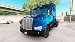 Escorpión Azul de la piel para el camión Peterbi
