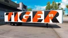 La piel de Tigre en el remolque