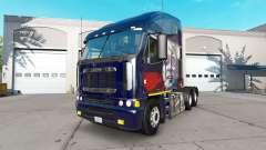 La piel de Putin en el camión Freightliner Argos