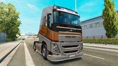 Plata de Transportes de la piel para camiones Vo