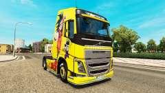 La piel de Dragon Ball Z para Volvo trucks