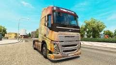 La piel en la Nebulosa de Grunge de Volvo trucks