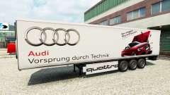 La piel de Audi en el trailer