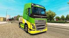 EAcres de la piel para camiones Volvo