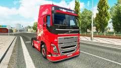 Skin Coca-Cola Volvo tractor