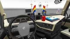 Actualizado el interior del Volvo FH