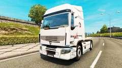Intersectorial de la piel para Renault camión