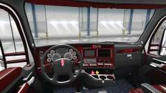 El Deluxe negro interior Kenworth T680