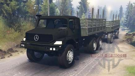 Mercedes-Benz Zetros 2733 para Spin Tires