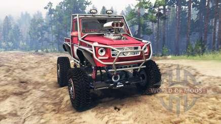 Mercedes-Benz G Bog Beast [03.03.16] para Spin Tires