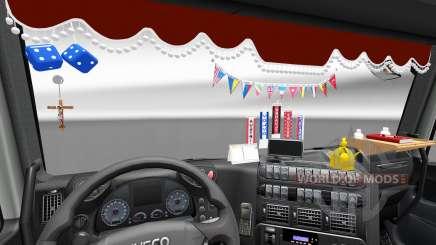 El nuevo interior es de Iveco camiones para Euro Truck Simulator 2