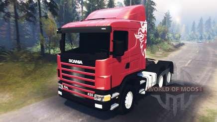 Scania R420 [03.03.16] para Spin Tires