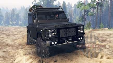 Land Rover Defender 90 Kahn 2013 para Spin Tires