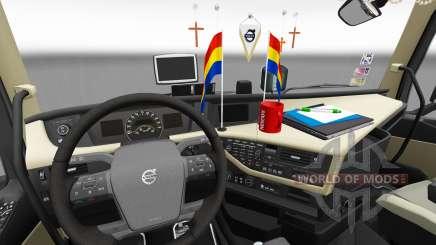 Actualizado el interior del Volvo FH para Euro Truck Simulator 2