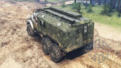 ZIL-131A para Spin Tires
