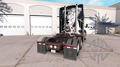 Bromista de la piel para el Kenworth tractor para American Truck Simulator