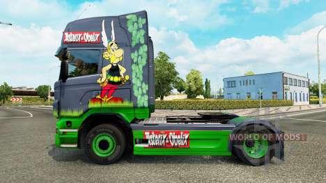 Asterix piel para Scania camión para Euro Truck Simulator 2