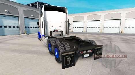 La piel de Pico Azul en el camión Kenworth W900 para American Truck Simulator