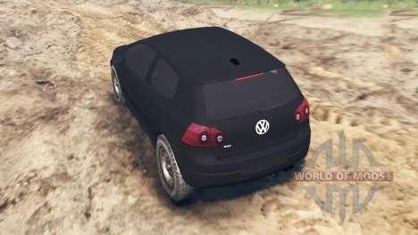 Volkswagen Golf V GTI 2006 para Spin Tires