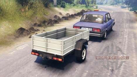 El VAZ-2105 para Spin Tires