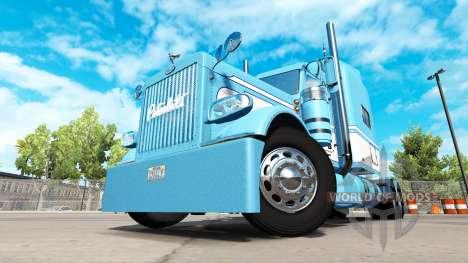 La piel de la Luz Azul-Blanco para el camión Pet para American Truck Simulator