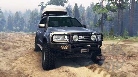 Toyota Land Cruiser 200 para Spin Tires