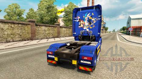 Looney Tunes de la piel para Scania camión para Euro Truck Simulator 2