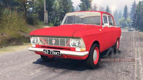 Moskvich-412 para Spin Tires