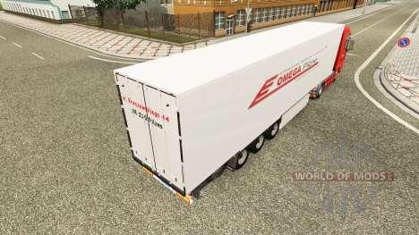 Omega Pilzno piel para HOMBRE camión para Euro Truck Simulator 2