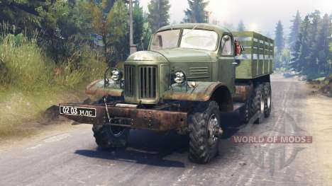 ZIL-157 para Spin Tires