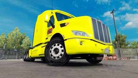 Central de Transporte de la piel para el camión  para American Truck Simulator