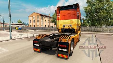La piel de Safari para Scania camión para Euro Truck Simulator 2