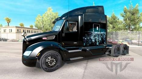 Piel de Hierro en Skyline camión Peterbilt para American Truck Simulator