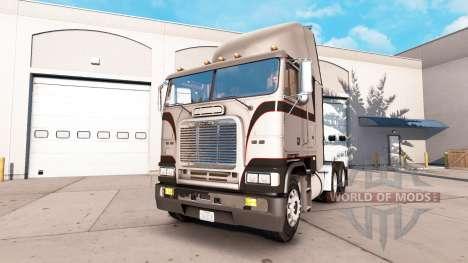 La piel Metálica de color Gris en la unidad trac para American Truck Simulator
