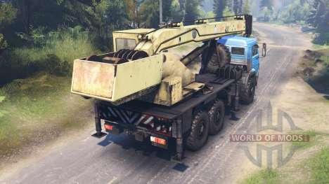 KamAZ-43118 para Spin Tires