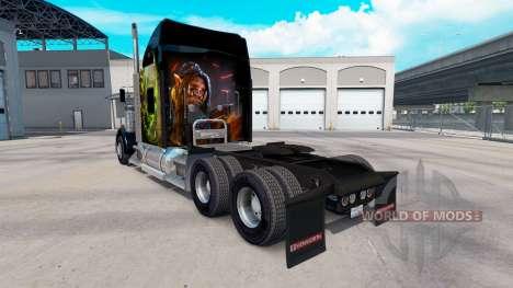 La piel de World of Warcraft en el camión Kenwor para American Truck Simulator