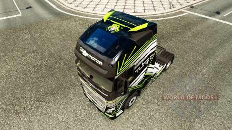 La piel Concepto de Imagen para camiones Volvo para Euro Truck Simulator 2