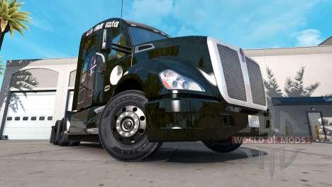 La piel del FC Bayern Munchen en un Kenworth tra para American Truck Simulator