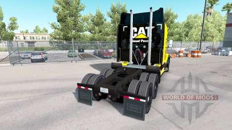 La oruga de la piel para el camión Peterbilt para American Truck Simulator