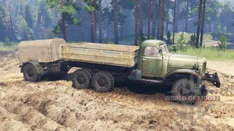 ZIL-157 para Spin Tires