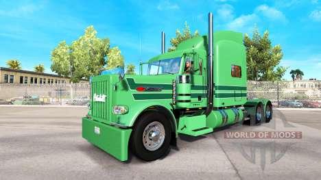 La piel de A. J. López para el camión Peterbilt  para American Truck Simulator