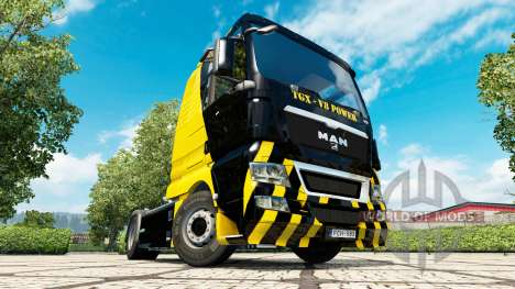 La Potencia del V8 de piel para HOMBRE camión para Euro Truck Simulator 2