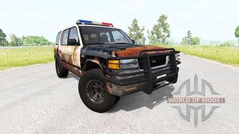 Gavril Roamer Rusted Sheriff para BeamNG Drive