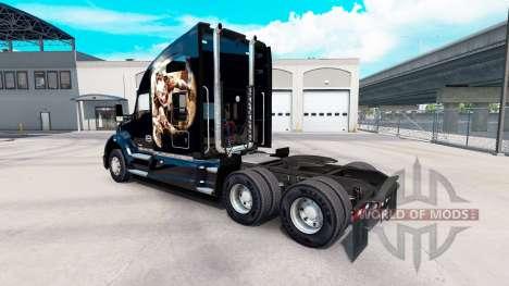 La piel de Himera en un Kenworth tractor para American Truck Simulator