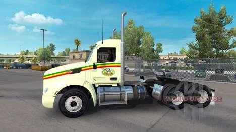 Reggae de la piel para el camión Peterbilt para American Truck Simulator