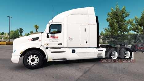 Rusty piel para el camión Peterbilt para American Truck Simulator