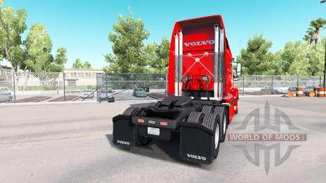 Piel C R Inglaterra en tractor Volvo VNL 670 para American Truck Simulator