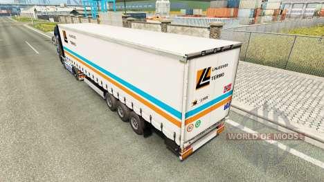La piel Linjegods en el remolque para Euro Truck Simulator 2