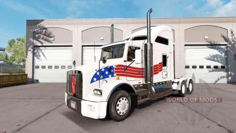 La piel de estados UNIDOS en el tractor Kenworth para American Truck Simulator